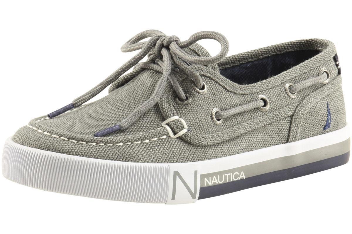 NEW Nautica Boys/' Spinnaker Boat Shoe KB3672