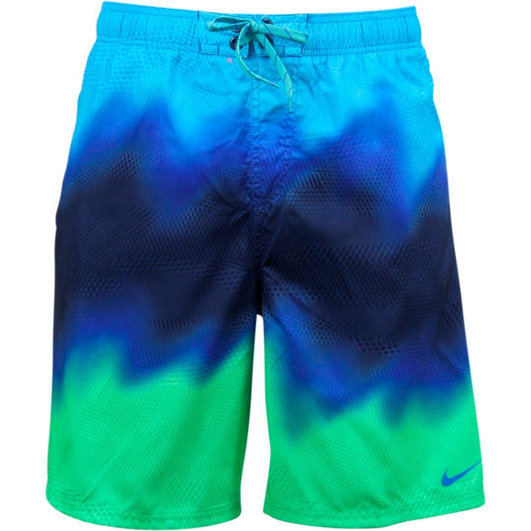 castigo Inyección Hueco  Nike Men's Liquid Haze Swim Trunk Volley Shorts Swimwear