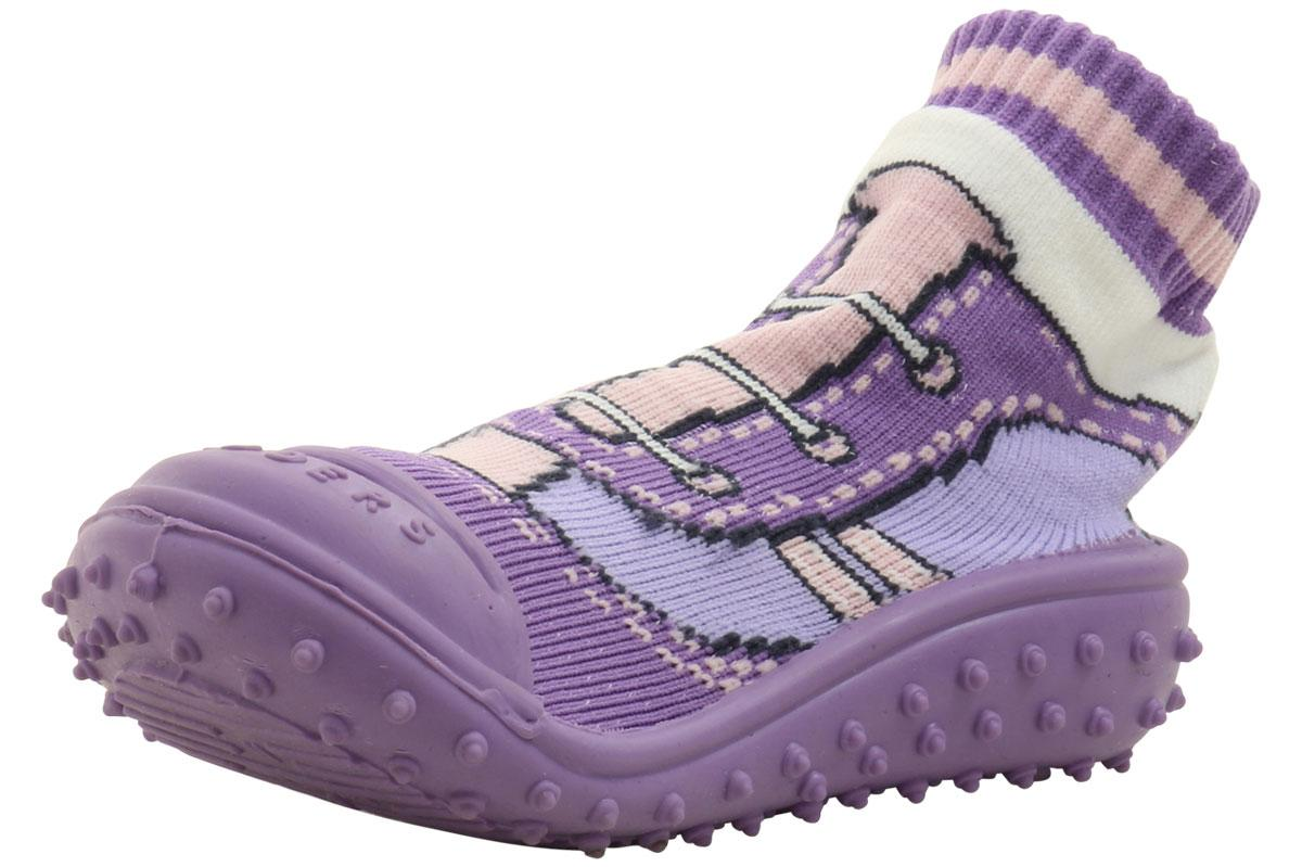 d6105d88e81a Skidders Girl s Skidproof Sneakers Cool Lilac Shoes XY4447