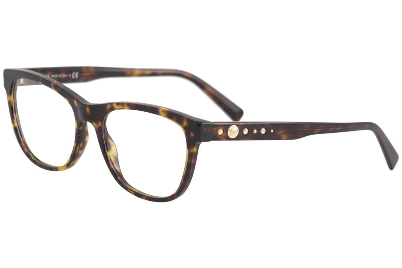 e14b0333b4ea Versace. Versace Women s Eyeglasses VE3263B VE 3263 B Full Rim Optical Frame