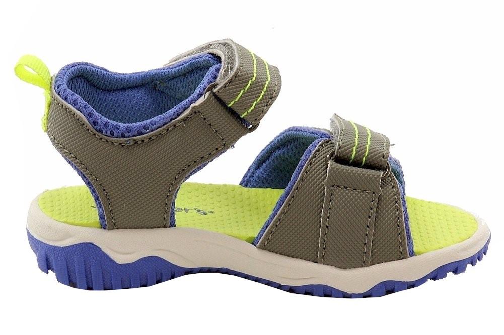 Carter/'s Toddler Boy/'s Wandu-B Fashion Khaki//Blue//Yellow Sandals Shoes