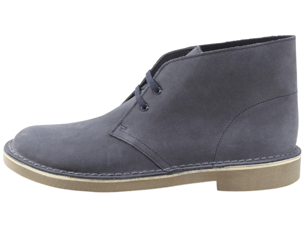 Clarks Bushacre-2 Ankle Boots Men/'s Chukkas Shoes