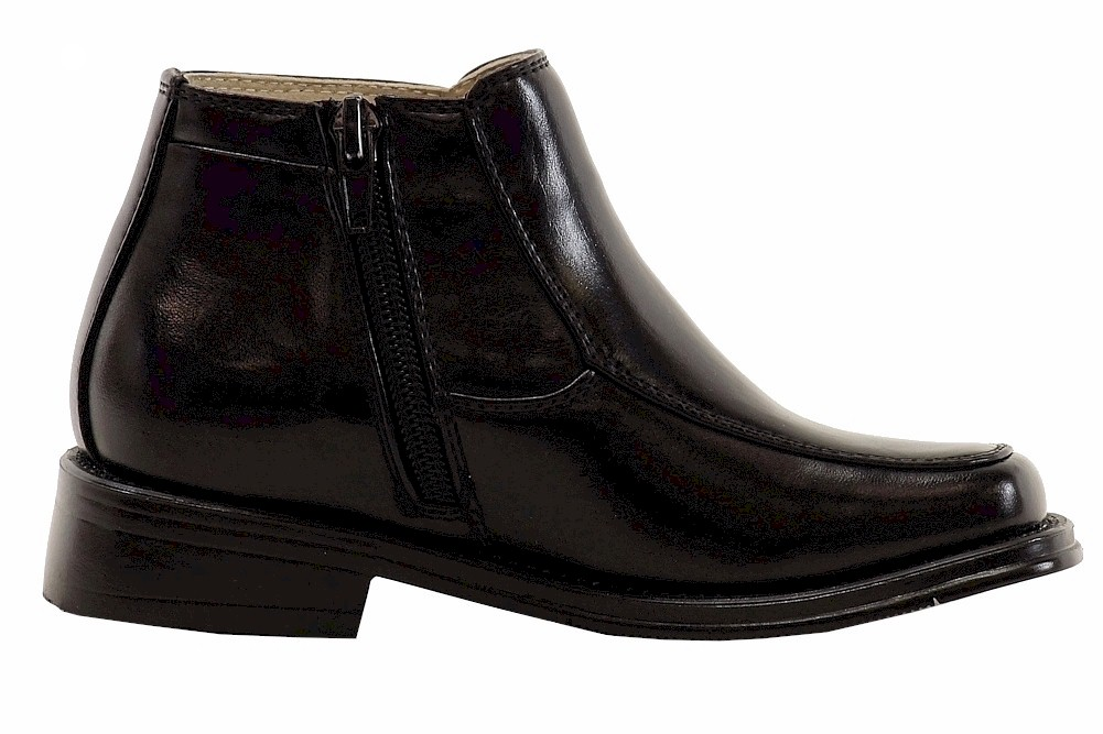 Easy Strider Boy/'s Top Boot Black School Uniform Boots Shoes