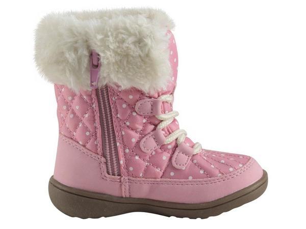 K Black 10 M US Toddler Carter/'s AQION Carters Girls AQION Boot