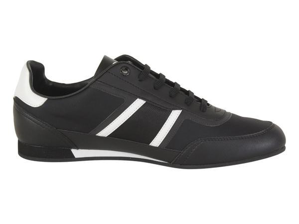 Hugo Boss Men/'s Lighter Black Low Top Sneakers Shoes