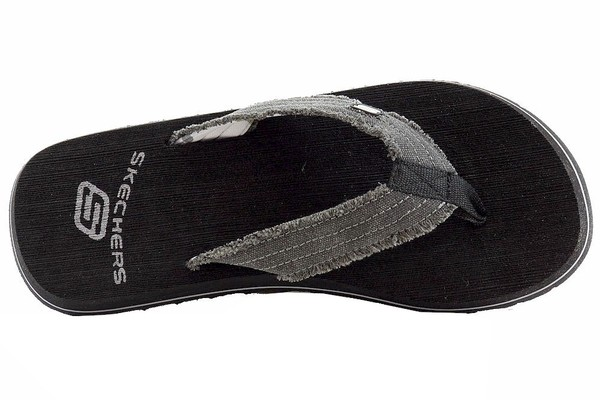 Skechers Men's Tantric Fray Fashion Flip Flops Sandals Shoes