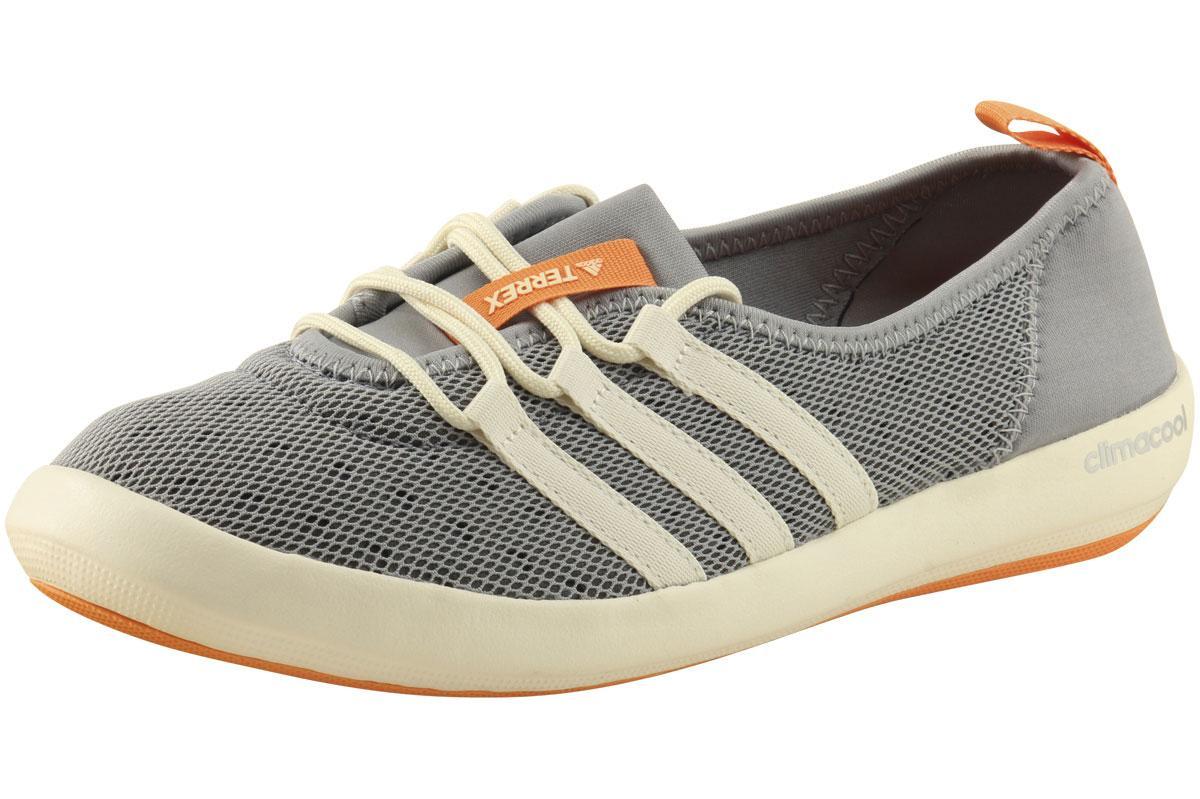 newest 362f3 9bb83 Adidas Women's Terrex Climacool Boat Sleek Sneakers Water Shoes