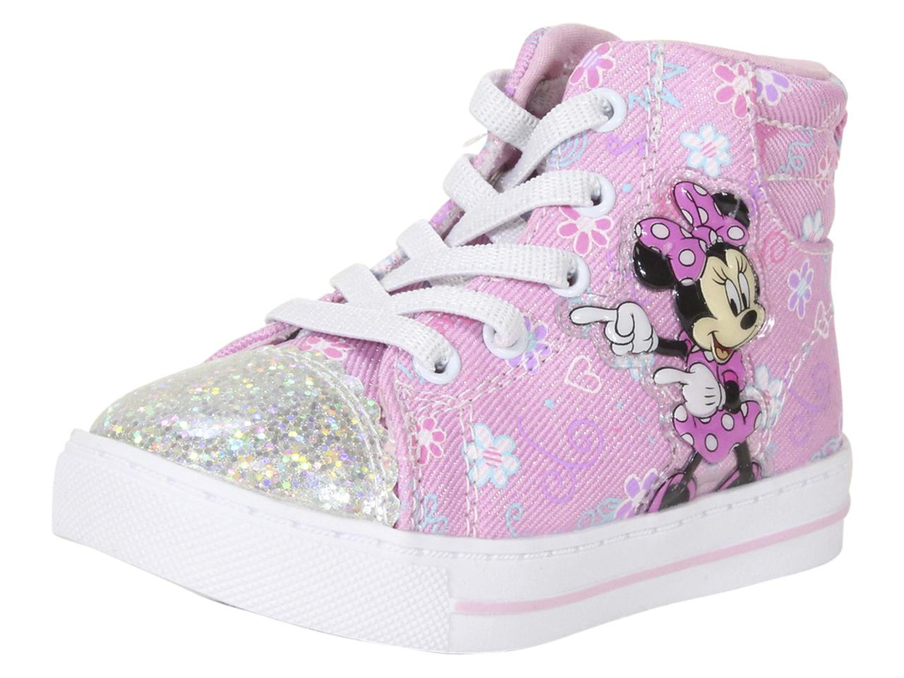 Minnie Mouse Canvas High Top Sneakers Shoes