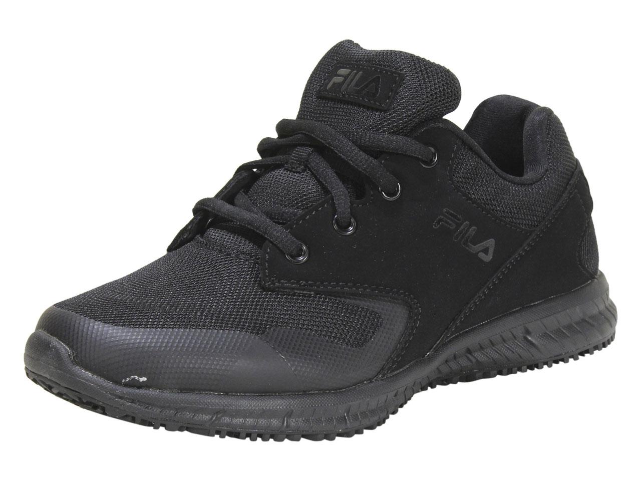 Fila Women's Memory Layers EVO SR WR Memory Foam Slip Resistant Sneakers Shoes