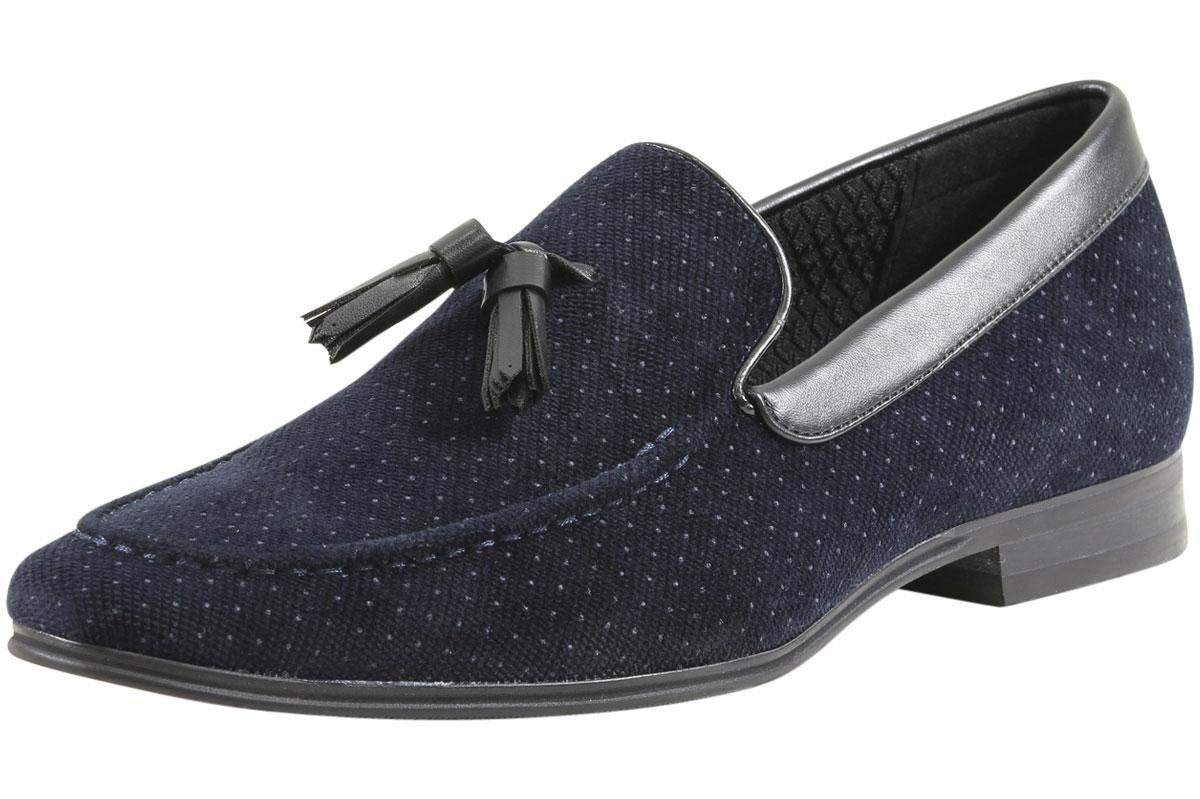 Niles Pin-Dot Loafers Shoes