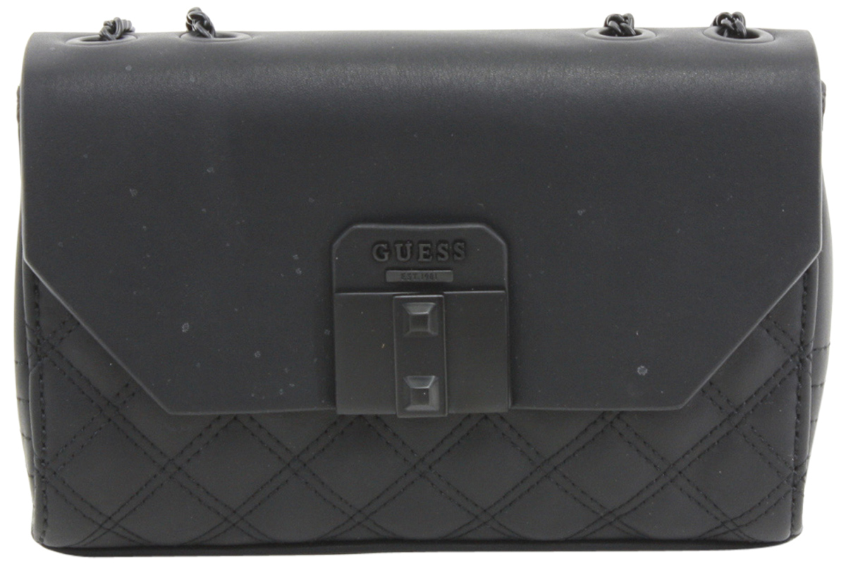 Guess Women s Rebel Roma Mini Quilted Flap-Over Crossbody Handbag by Guess.  Touch to zoom e3169e7737