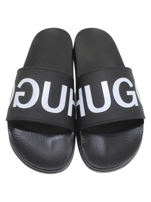 Hugo Boss Mens Timeout-RB Slides Sandals Shoes