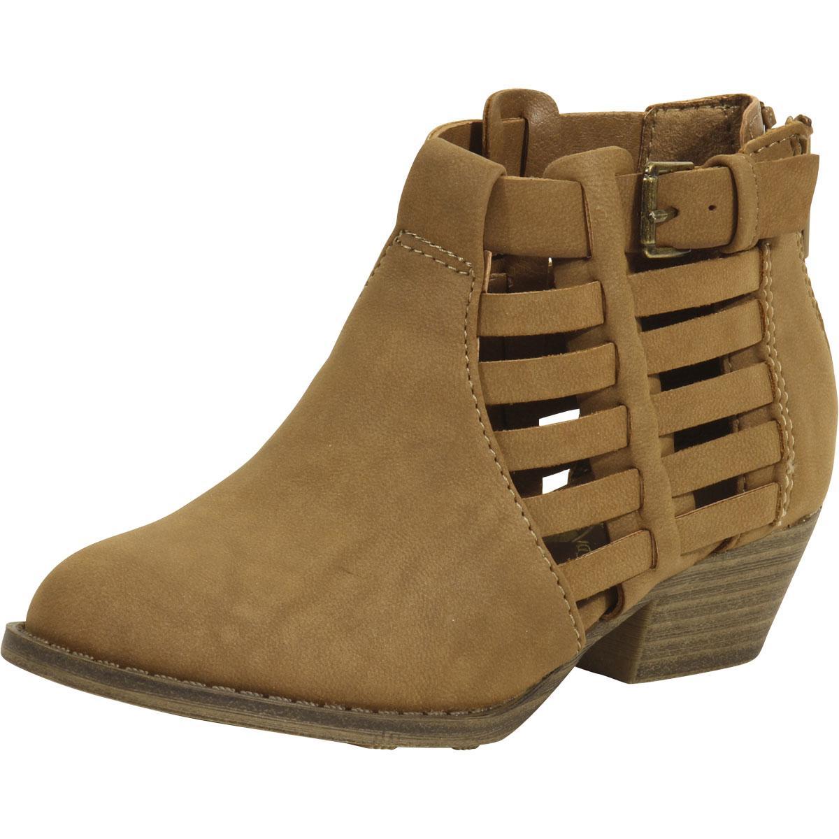 Cathie Cutout Ankle Boots Shoes