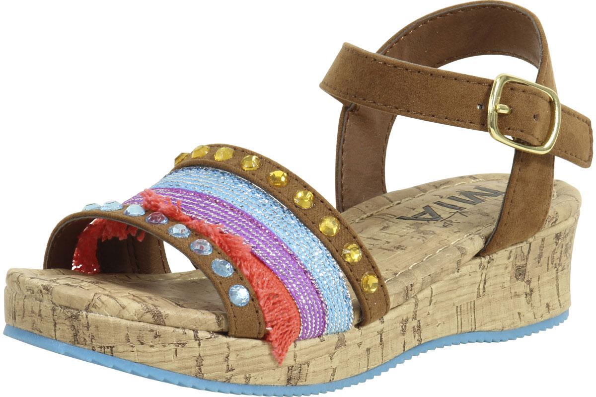 Mylie Nova Suede Wedge Sandals Shoes
