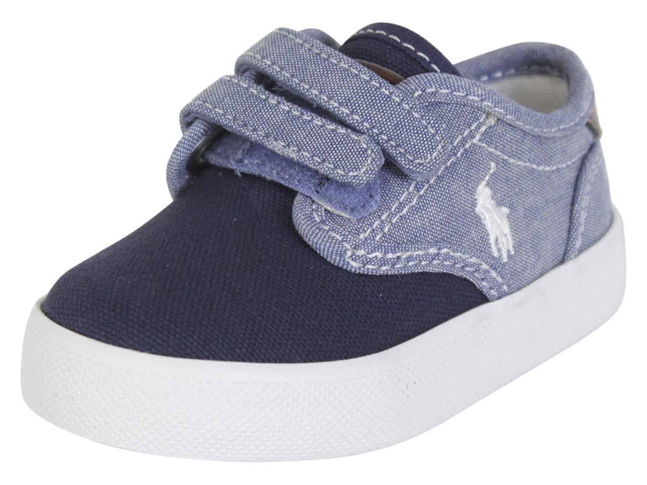 pretty nice footwear a few days away Polo Ralph Lauren Toddler Boy's Luwes-EZ Sneakers Shoes