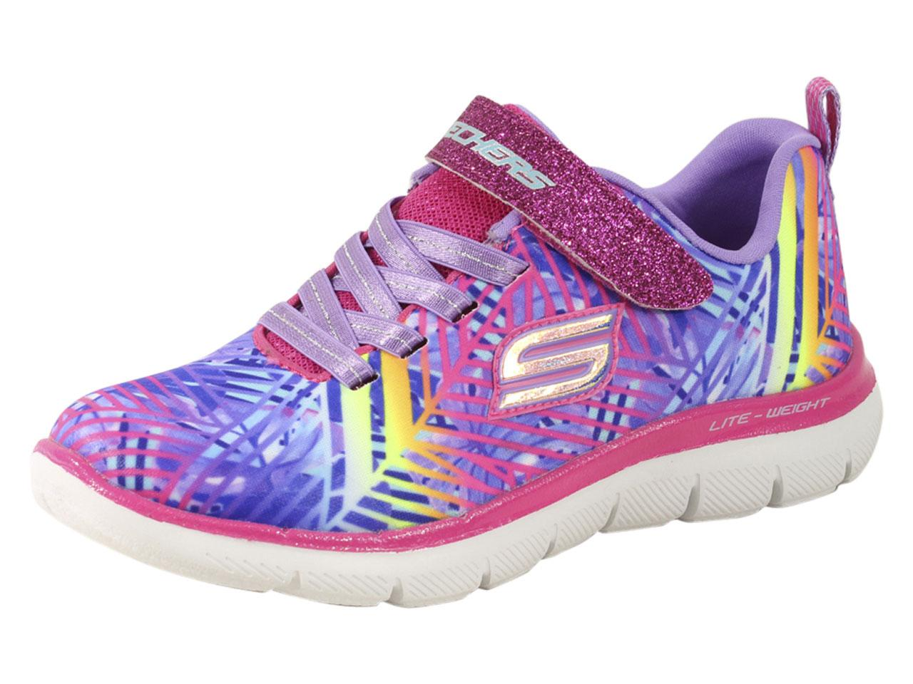 Skechers Little Girl's Skech Appeal 2.0 Tropic Tidbit Memory Foam Sneakers Shoes
