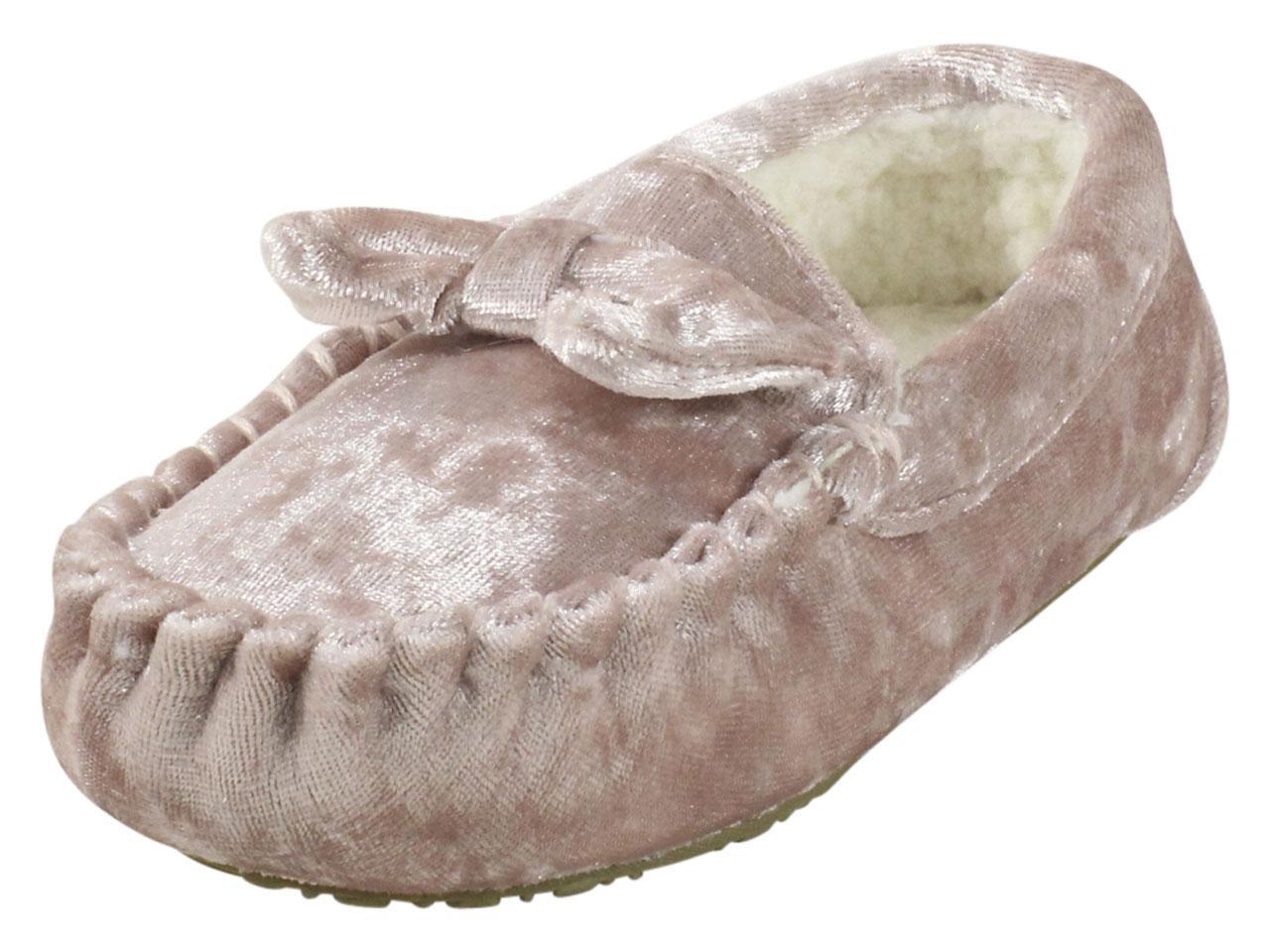 Velvet Moccasins Slippers Shoes