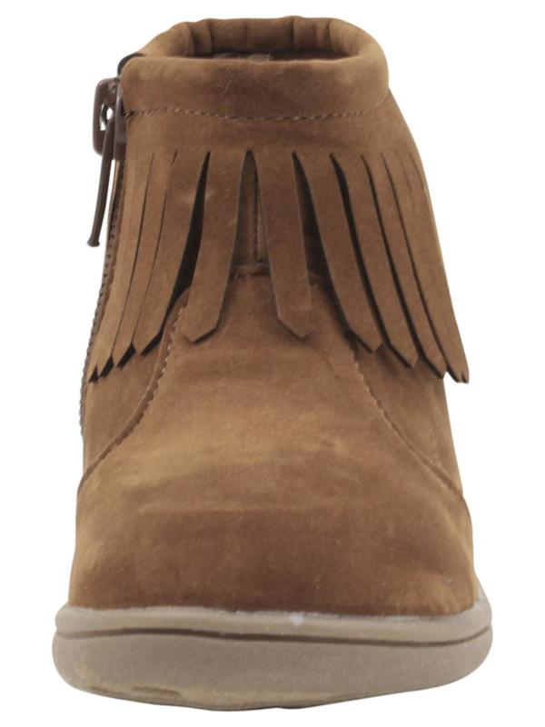 Cata3 Fringe Ankle Boots Shoes