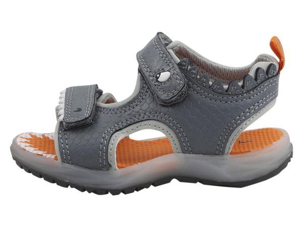 carter's light up shark sandals