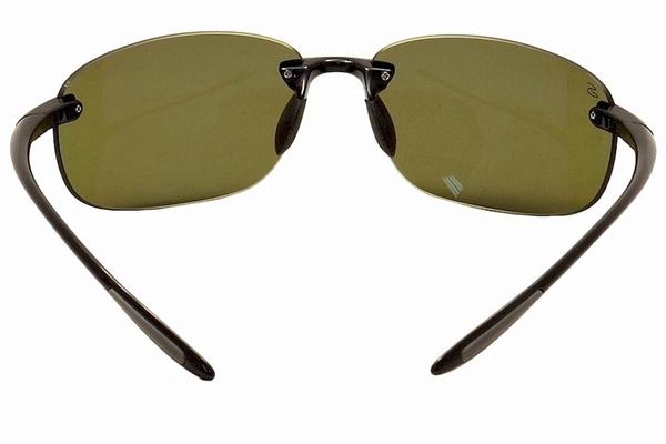 Shiny Black Bolle Serengeti Eyewear 8270 Serengeti Nuvino Mirror Sunglasses