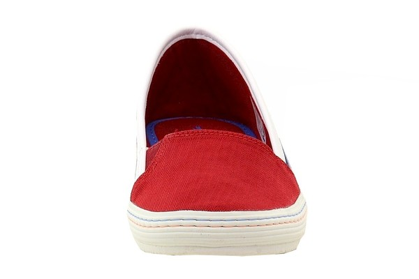 Lacoste Women/'s Orane 116 1 Fashion Slip-On Dark Red Canvas Sneakers Shoes