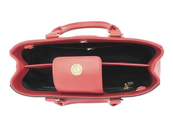 Love Moschino Womens Heart Patch Satchel Handbag
