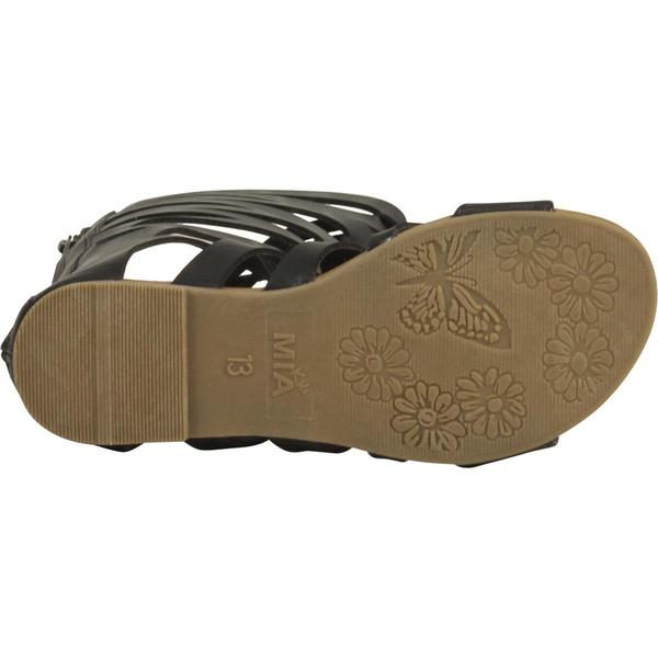 La Redoute Collections Big Girls Leather Gladiator Sandals Sizes 8.5-6