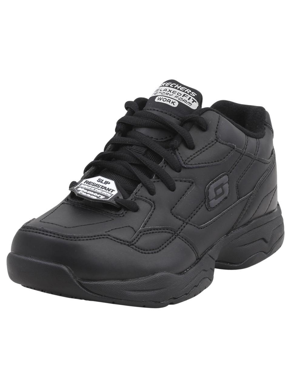 3e2769cc07c5 Skechers Work Women s Felton Albie Memory Foam Slip Resistant Sneakers  Shoes by Skechers. Touch to zoom