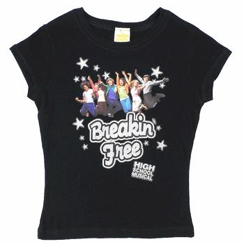 Disney's High School Musical Girl's Breakin' Free Short Sleeve T-Shirt  UPC: