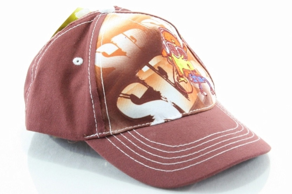 Image of Nickelodeon Spongebob Squarepants Graffiti Boy's Cotton Baseball Hat - Red - 4 7