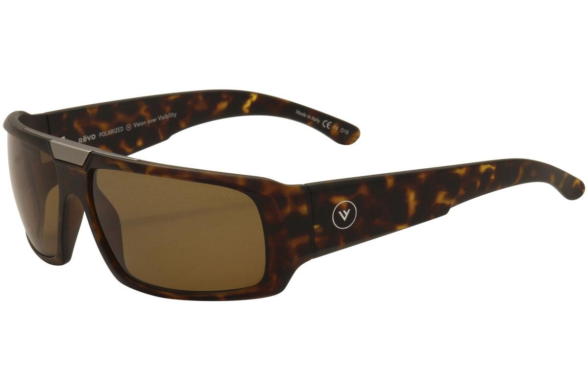 eaf034a69d1 Revo Men s Apollo RE1004 RE 1004 Wrap Sunglasses
