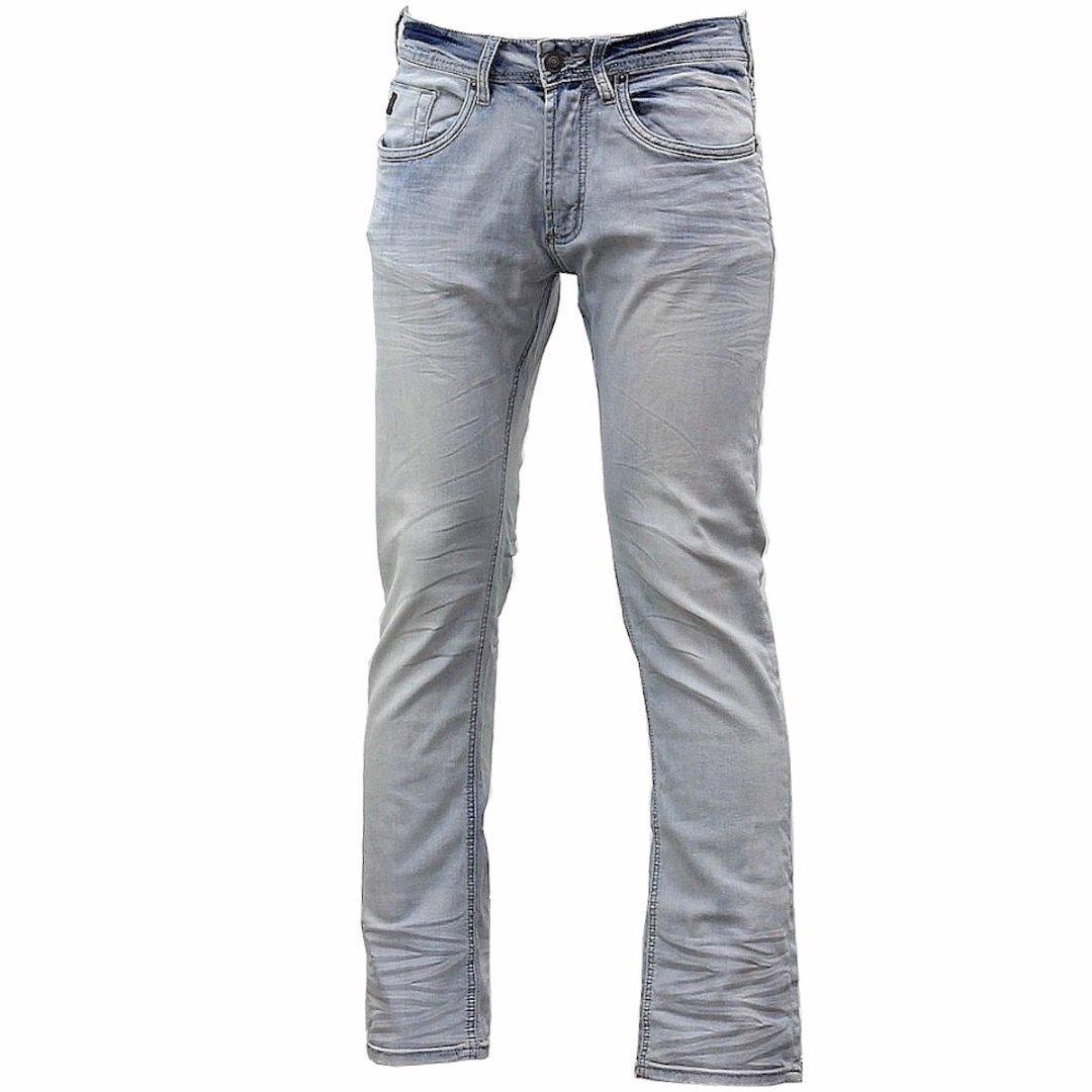 Image of Buffalo By David Bitton Men's Ash X Skinny Stretch Jeans - Blue - 30W x 30L