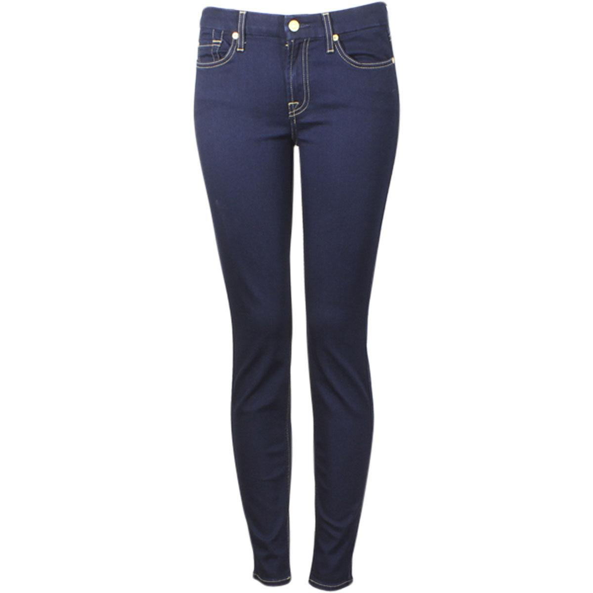 Image of 7 For All Mankind Women's (B)Air Denim The Skinny Jeans - Blue - 26 (1/2)