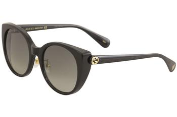 Gucci Women's GG0369S GG/0369/S Fashion Cat Eye Sunglasses