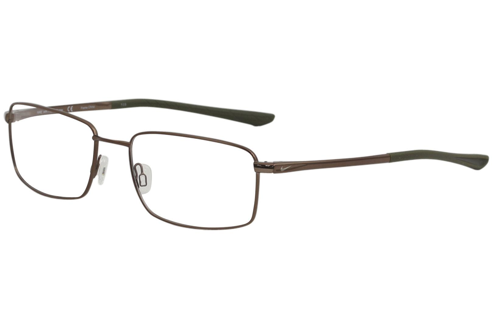 0e1ecdfcfb Nike Men s Eyeglasses 4283 Full Rim Flexon Optical Frame