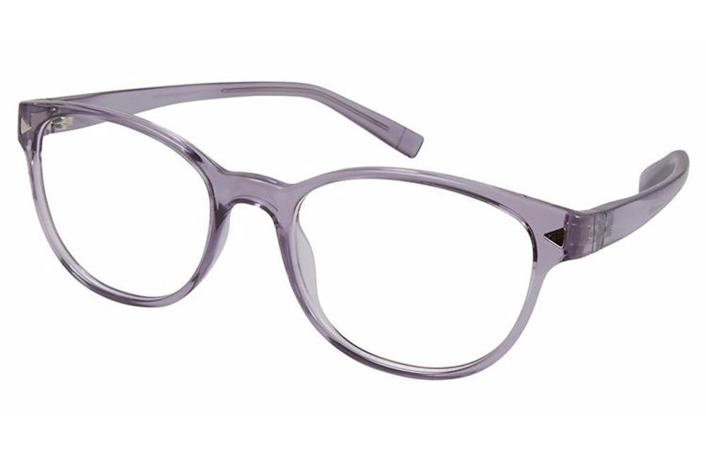 Image of Esprit Women's Eyeglasses ET17536 ET/17536 Full Rim Optical Frame - Purple   577 - Lens 49 Bridge 17 Temple 130mm