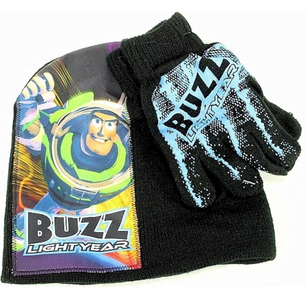 Image of Disney Pixar Toy Story Boy's Buzz Lightyear Hat & Glove Set