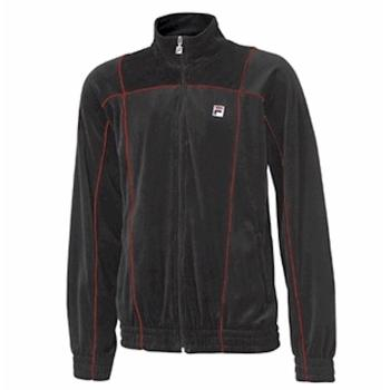 Fila Men's Velour Manno LM113H53 Black Jacket  UPC: