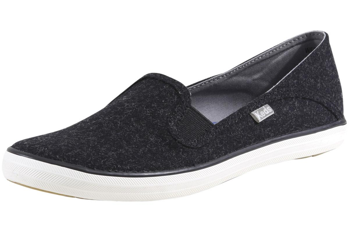 Keds Shoes  Keds Double Up Wool Womens Loafers Black