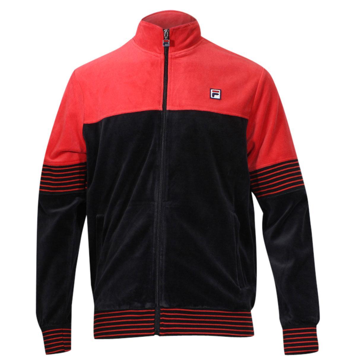 Fila Men's Marcus Long Sleeve Zip Front Track Jacket