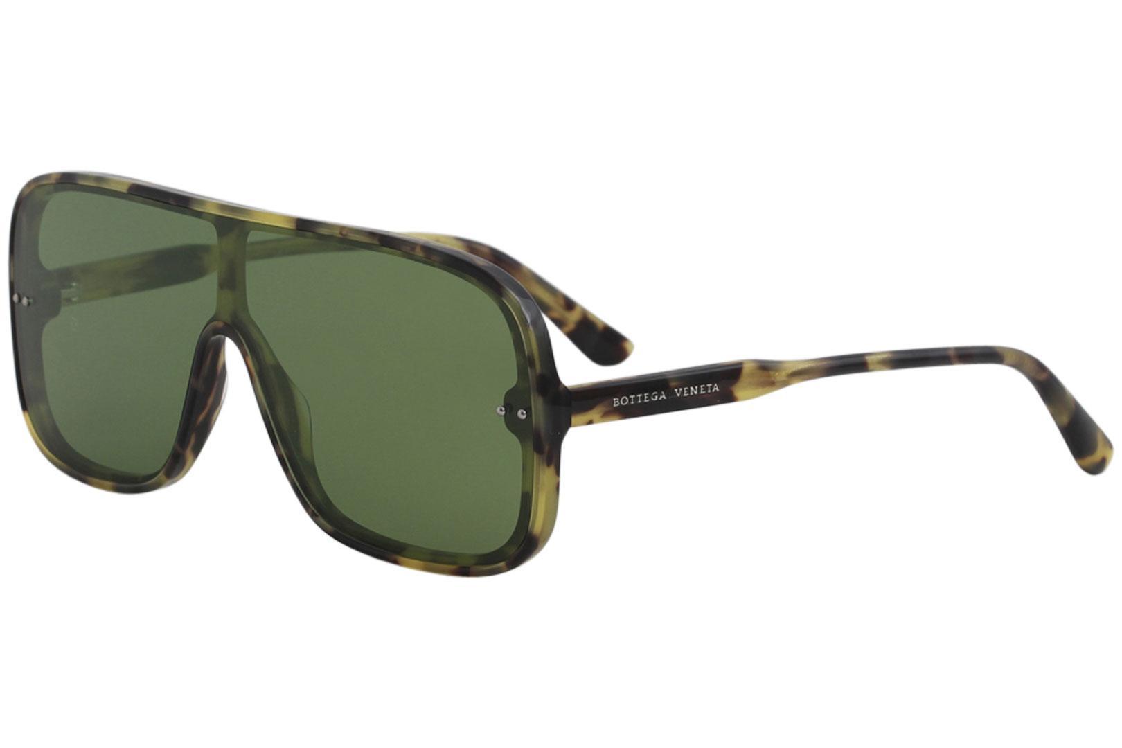 b199d597f85a Bottega Veneta Men s BV0167S BV 0167 S Fashion Shield Sunglasses