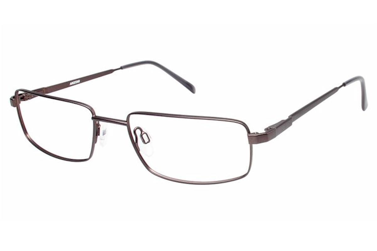 Image of Aristar By Charmant Men's Eyeglasses AR16204 AR/16204 Full Rim Optical Frame - Grey - Lens 51 Bridge 18 Temple 140mm