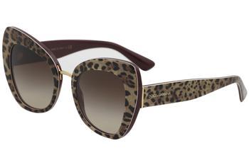 d662048759ae Dolce & Gabbana D&G DG4319 4319 3161/13 Leopard/Bordeaux Cat Eye ...