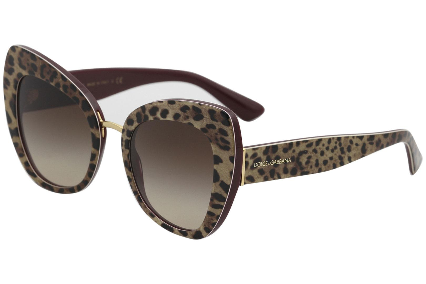 0eb9a4eabe5 Dolce   Gabbana Women s D G DG4319 DG 4319 Fashion Cat Eye Sunglasses by  Dolce   Gabbana