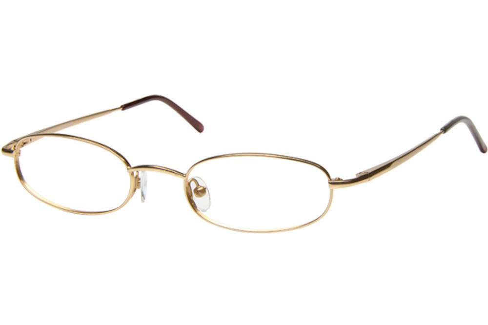 Image of Tuscany Men's Eyeglasses 465 Full Rim Optical Frame - Gold   01 - Lens 45 Bridge 20 Temple 145mm