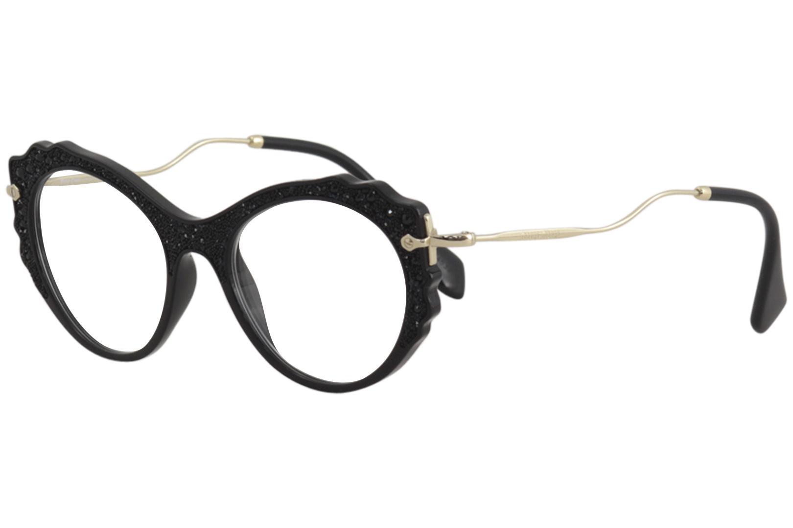 Miu Miu Women\'s Eyeglasses MU01PV MU/01/PV Full Rim Optical Frame
