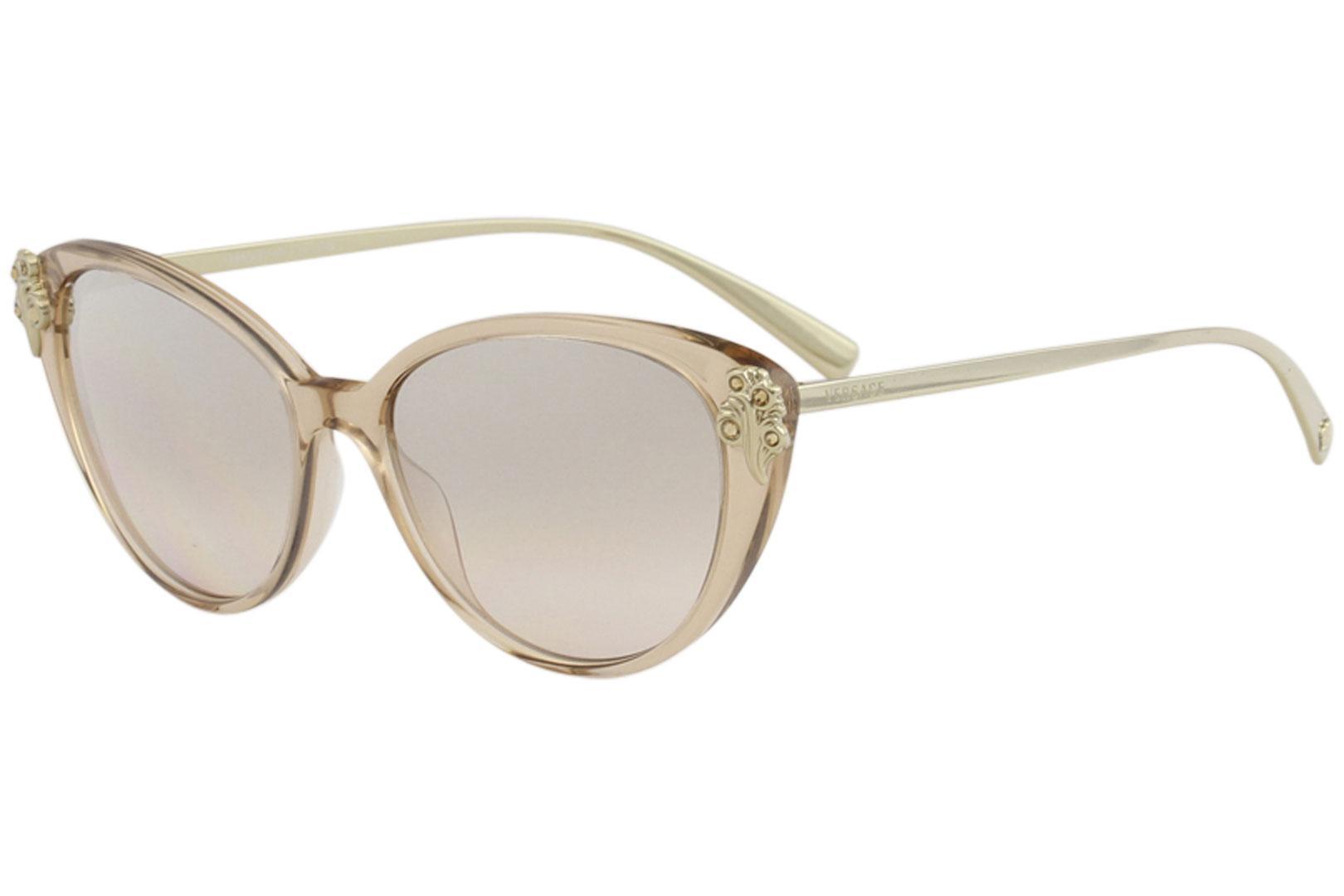 bd5a2b488c Versace Women s VE4351B VE 4351 B Fashion Cat Eye Sunglasses