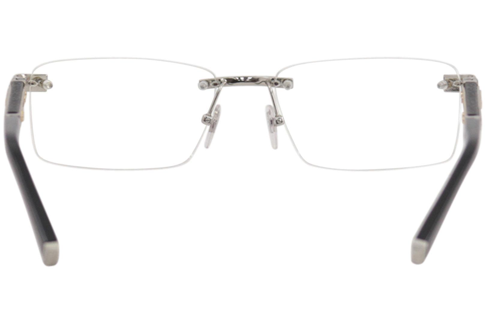 b6c479ec96 Zilli Men s Eyeglasses ZI60013 ZI 60013 Rimless Optical Frame