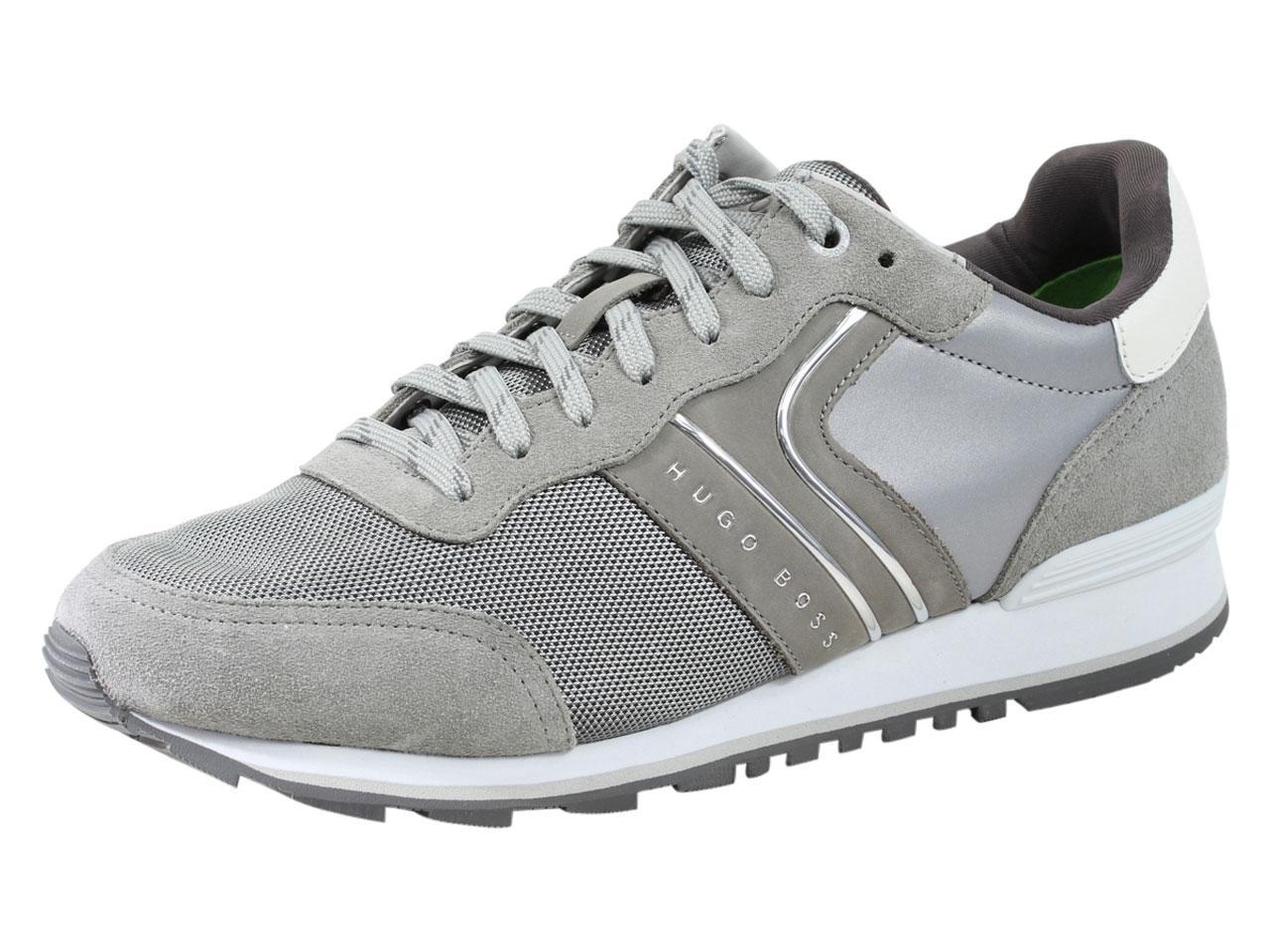 adcb5f0b340 Hugo Boss Men s Parkour Memory Foam Trainers Sneakers Shoes
