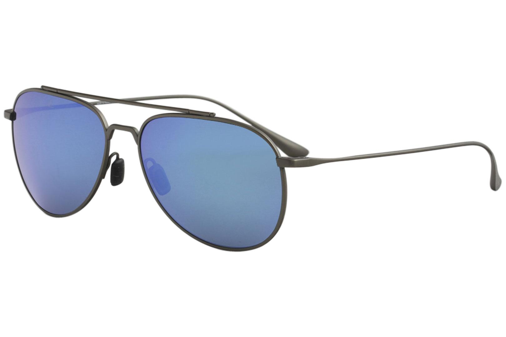 561a1ec031 Vuarnet Men s Swing Pilot VL1627 VL 1627 Titanium Fashion Sunglasses by  Vuarnet. Touch to zoom